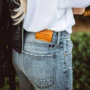 Lucky Brand Brooke Crop Jeans